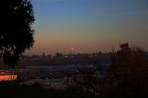 An eveing sunset on Mount Hood.