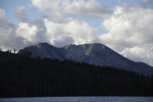 This is a mountain located in the Lake Tahoe Basin.