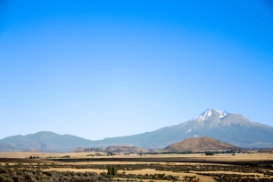 Photograph taken from the Mt. Shasta View Point turn out.