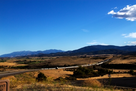 Taken from the Mt. Shasta View point turn out on south bound Interstate 5 in Northern California.