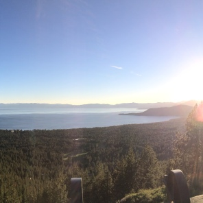 Looking South on to Lake Tahoe