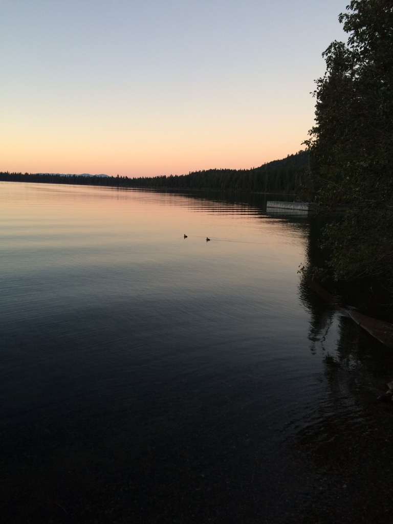 This was taken one evening at Fallen Leaf Lake, South Lake Tahoe, CA..