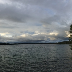 A Panoramic of Fallen Leaf Lake