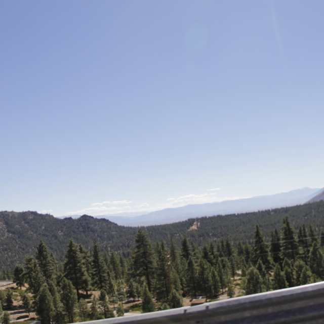 This is along highway 50 heading east to the Carson Valley in Nevada.