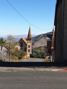 Here is a church that is down a street in Virginia City, Nevada.