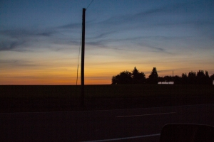 This was taken one evening near Helvetia, OR during one April.