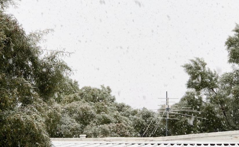 Tucson and Snow